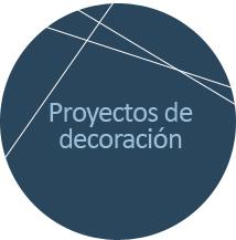 Icono para acceder a la información de nuestro servicio de proyectos de decoración.