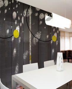 Paneles japoneses de tejido screen