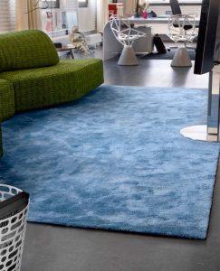 alfombra de seda