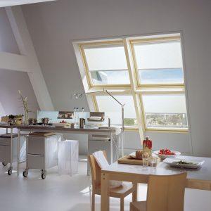 Estores enrollables para ventanas tipo velux
