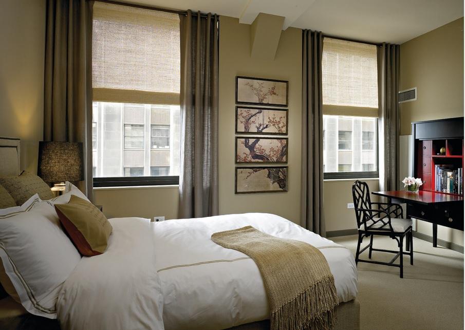 cortinas de lino sencillez y refinamiento entrecolores