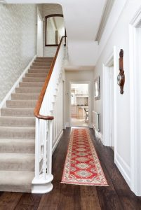 Calcular las medidas de una alfombra de pasillo