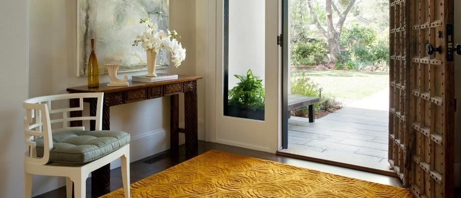 Alfombras redondas pequeas salones pequeos con ideas - Alfombras de pasillo modernas ...