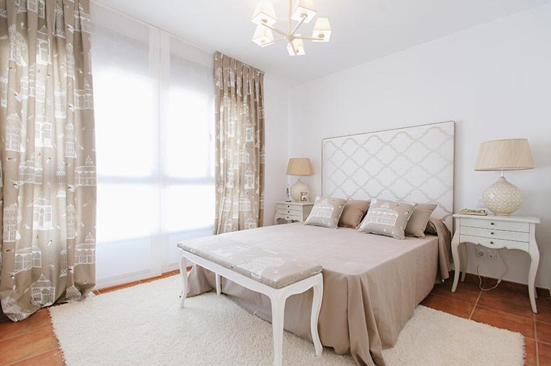 Cabeceros tapizados modernos muebles de dormitorio - Dormitorios con cabeceros tapizados ...