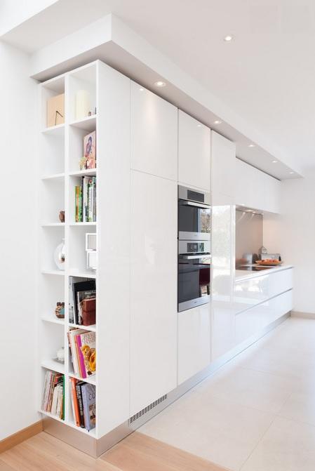 Librer as a medida para aprovechar el espacio a tope - Librerias de pared ...