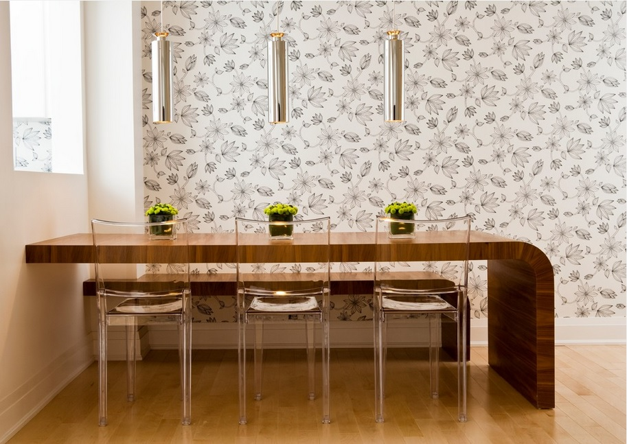 Pueden ser los papeles pintados de flores modernos - Papeles de pared modernos ...