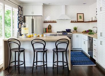 Cocinas abiertas al sal n m s que una moda for Cocinas abiertas al salon modernas