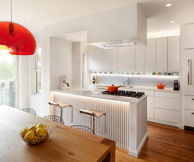 Cocinas abiertas al sal n m s que una moda for Cocina y lavadero integrados