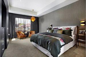 Visillos modernos para dormitorio principal