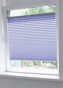 Cortinas plisadas para ventanas oscilobatientes