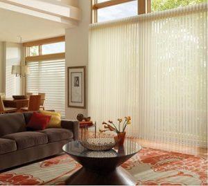 Cortinas verticales para grandes ventanales
