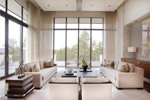 Visillos para ventanales de grandes dimensiones