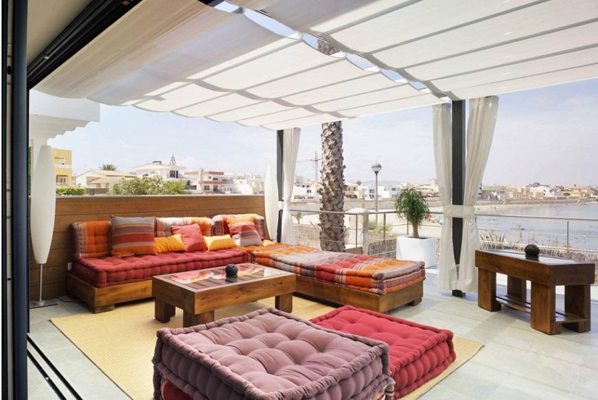 C mo sacar el m ximo partido a las cortinas para terrazas - Estores para terrazas ...