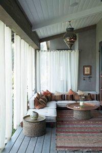 Visillos para porches