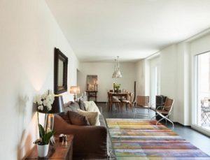 alfombra de vinilo imitación madera