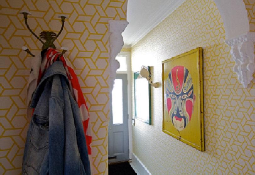 C mo decorar el pasillo con papel pintado - Decorar papel pintado ...