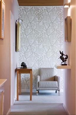 C mo decorar el pasillo con papel pintado - Como se pone el papel pintado ...