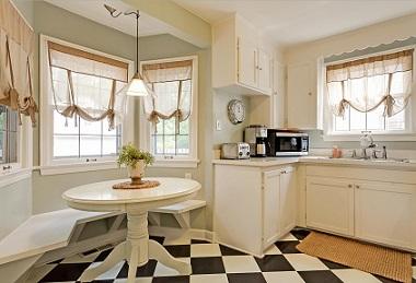 vestir ventanas de cocina vintage