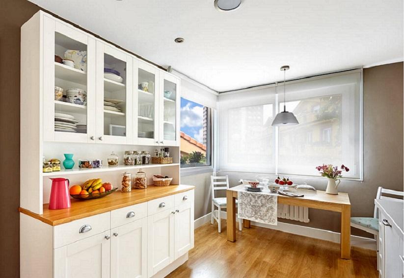 CÓmo vestir ventanas de cocina   entrecolores