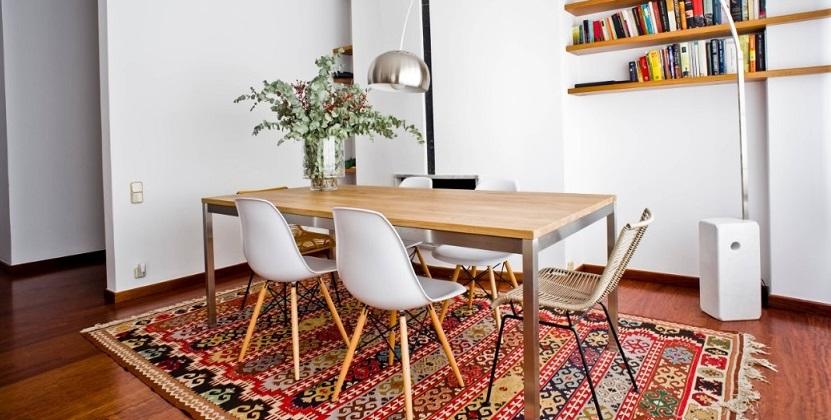 C mo elegir alfombras para el comedor y acertar for Tipos de alfombras