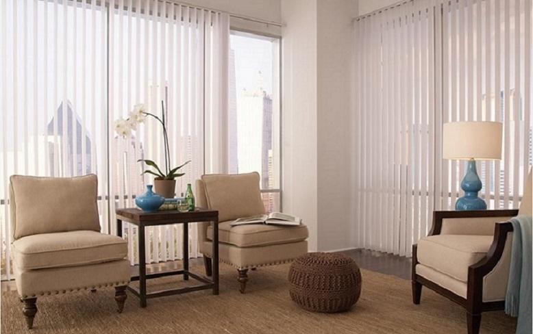 cortinas dobles para salon