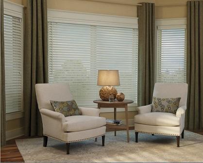 Resultado de imagen para persianas y cortinas combinadas