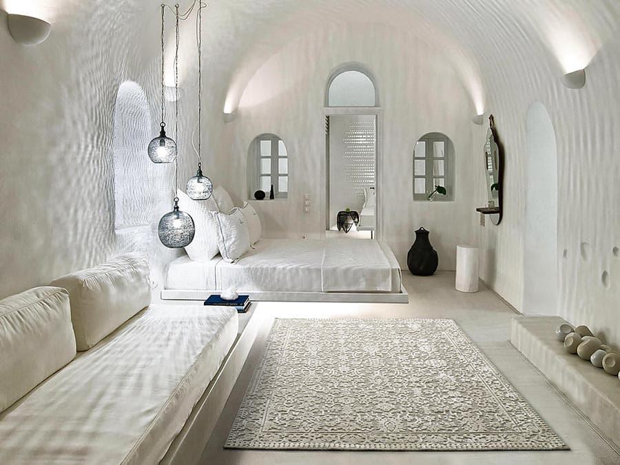 Alfombra moderna dormitorio